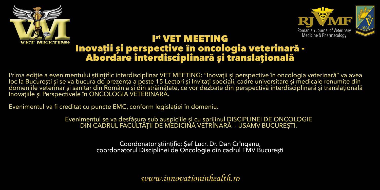 Romanian Journal of Veterinary Orthopedics & Imagistic